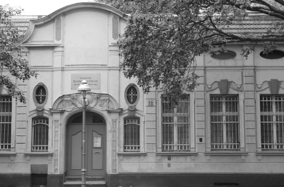 Gegenwärtige Ansicht des Gebäudes in der Fontanepromenade15, 2012 (© Stella Flatten)